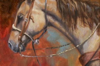 Working Bridle Horse